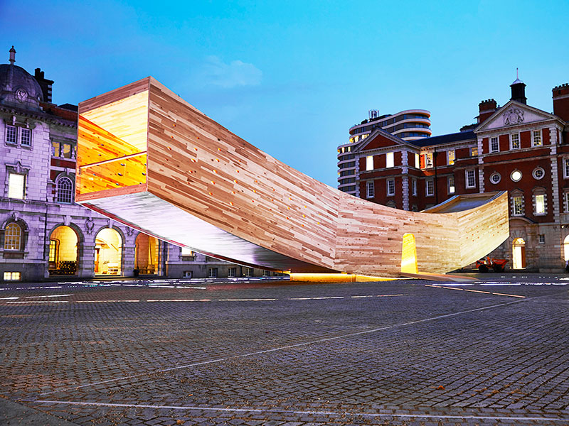 Innovative timber architecture