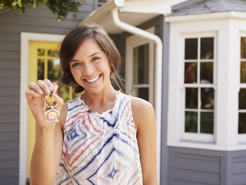 women in the property market