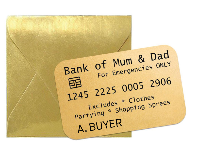 The bank of mum & dad