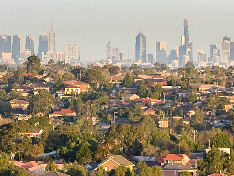 property price movements in Melbourne