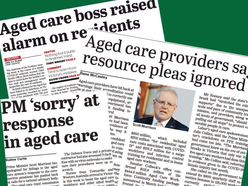aged care concerns