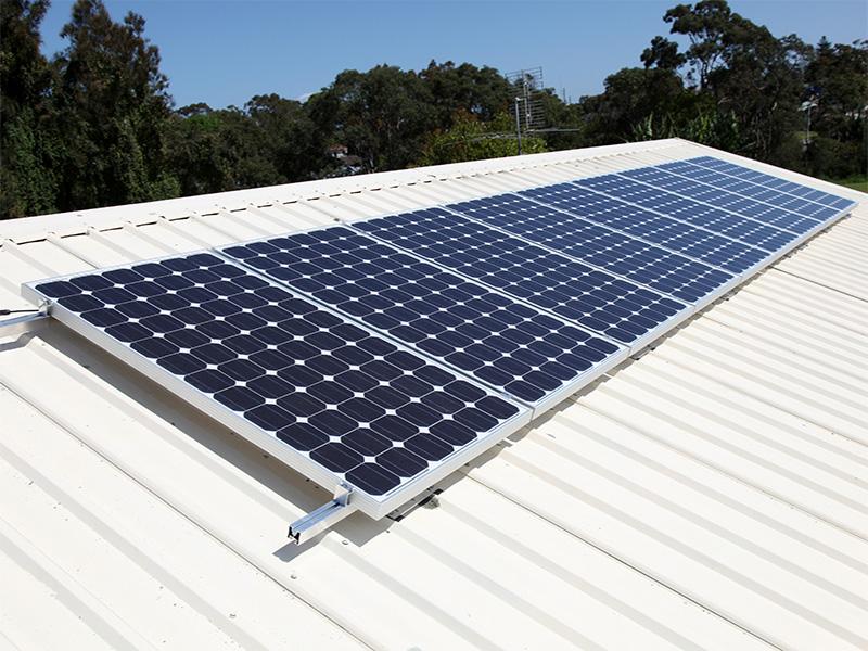 adding solar power